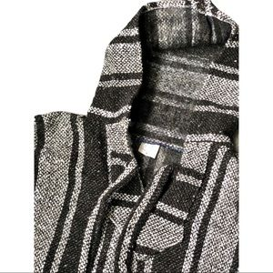 Other - Black and Gray Poncho